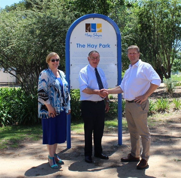 FUNDING OF $760,000 FOR HAY COMMUNITY PROJECTS