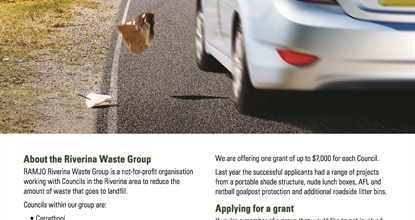 Waste and Litter Reduction Grants
