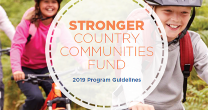 Stronger Country Communities Fund Round 3