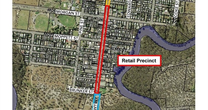 Proposed Master Plan for Lachlan Street