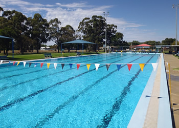 Hay Shire Council Community Services Public Swimming Pool